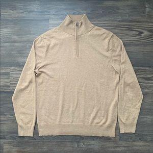 J. Crew 1/4 Zip Pullover Sweater